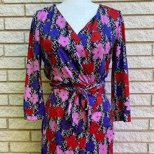 Diane Von Furstenberg x Andy Warhol Wrap Dress 8